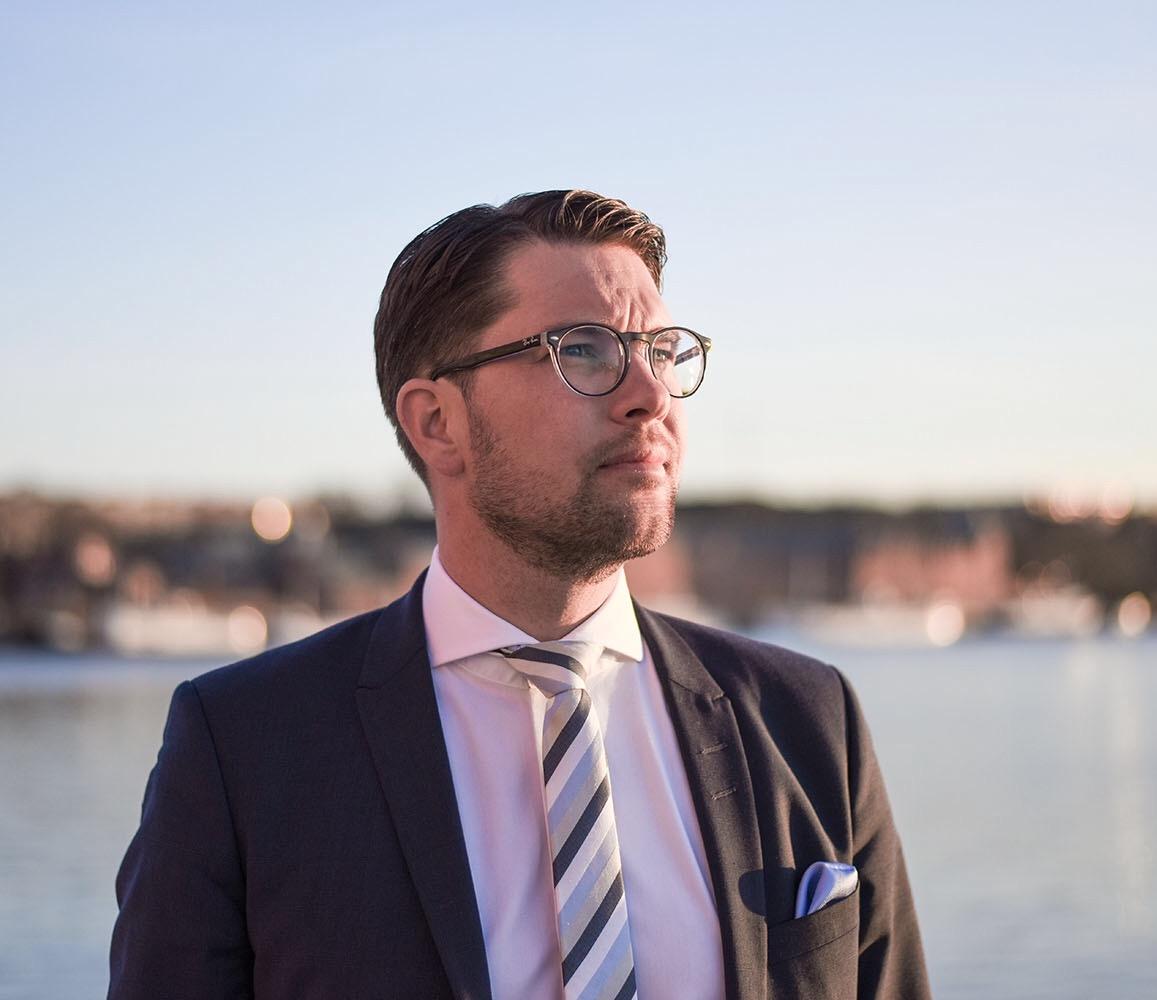 Jimmie Åkesson, partiledare SD